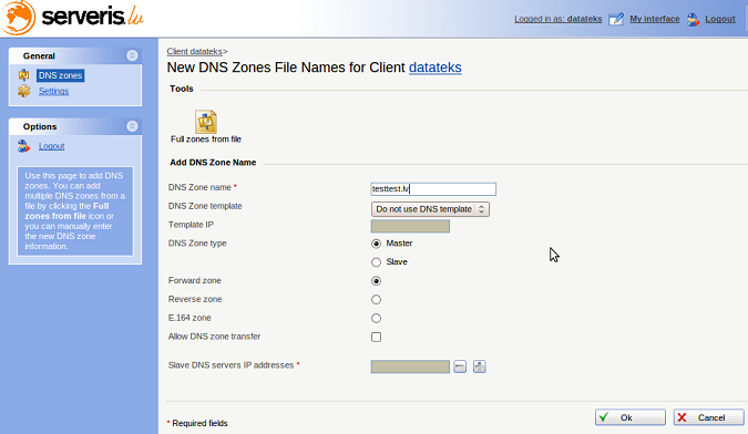 how to use the right dns